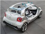 Smart FourJoy concept 2013 вид сверху 3/4