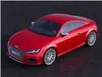 Audi TTS - Audi TTs 2014 вид спереди сверху