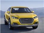 Audi TT Offroad - Audi TT Offroad Concept 2014 вид спереди