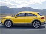 Audi TT Offroad - Audi TT Offroad Concept 0014 поверхность сбоку