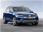 Volkswagen Touareg 2014 вид спереди сбоку