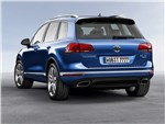 Volkswagen Touareg - Volkswagen Touareg 2014 вид сзади