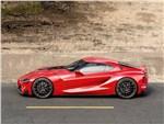 Toyota FT-1 concept 2014 вид сбоку