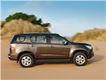 Chevrolet TrailBlazer - Chevrolet Trailblazer 2012 вид сбоку