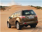 Chevrolet TrailBlazer - Chevrolet Trailblazer 2012 вид сзади