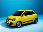 Renault Twingo 2014 вид спереди желтый