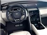 Land Rover Discovery Vision 2014 водительское место