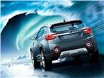 Subaru VIZIV-2 Concept 2014 вид сзади