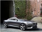 Volvo Coupe концепт 2013 вид спереди 3/4