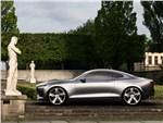 Volvo Coupe концепт 2013 вид сбоку