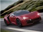 W Motors Lykan Hypersport 2013 красный вид спереди