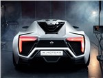 W Motors Lykan Hypersport 2013 вид сзади