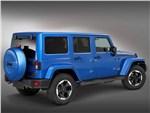 Jeep Wrangler Polar 2014 вид сбоку сзади
