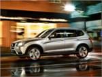 BMW X3 2010 вид сбоку