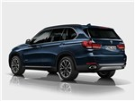 BMW X5 Security Plus concept 2013 вид сзади