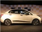 Hyundai Xcent - Hyundai Xcent 2014 вид сбоку