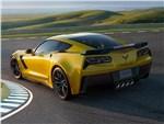 Chevrolet Corvette Z06 2015 вид сзади