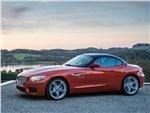 BMW Z4 2013 вид сбоку