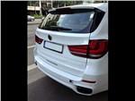 BMW X5 M50d 2013 вид сзади