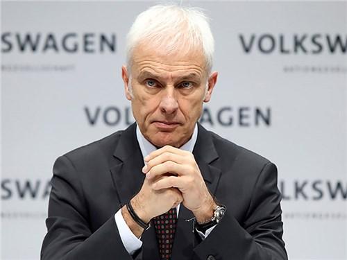 Новость про Volkswagen - Маттиас Мюллер
