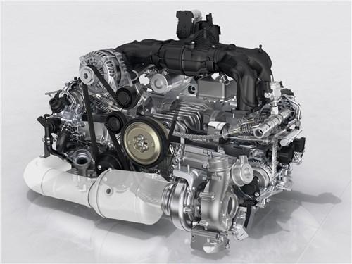 Porsche 718 2017 двигатель