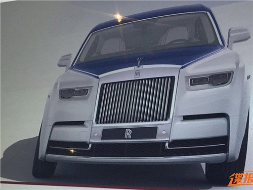 Рассекречен новый Rolls-Royce Phantom