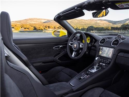 Porsche 718 2017 салон