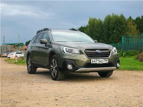 """Subaru Outback - тест-драйв subaru outback 2018: """"для разнообразия"""""""