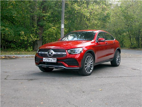 Mercedes-Benz GLC Coupe - mercedes-benz glc coupe 2020 красная черта
