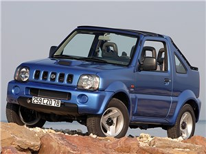 Предпросмотр suzuki jimny convertible 2004