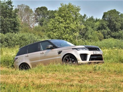 Land Rover Range Rover Sport SVR (2018) вид сбоку