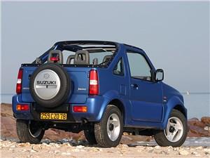 Предпросмотр suzuki jimny convertible 2004 вид сзади справа