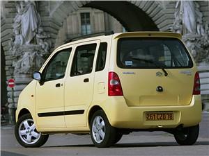 Предпросмотр suzuki wagon r+ 2004 вид сзади слева