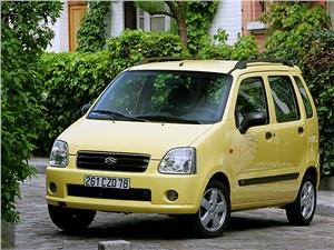 Предпросмотр suzuki wagon r+ 2004 вид спереди слева