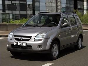 Промежуточное звено (Fiat Panda, Suzuki Ignis, Suzuki Liana, Subaru Impreza) Ignis - Suzuki Ignis 2004 вид спереди слева фото 2