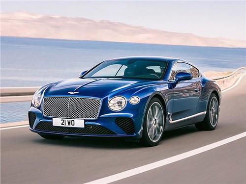 Bentley показала новое поколение Continental GT