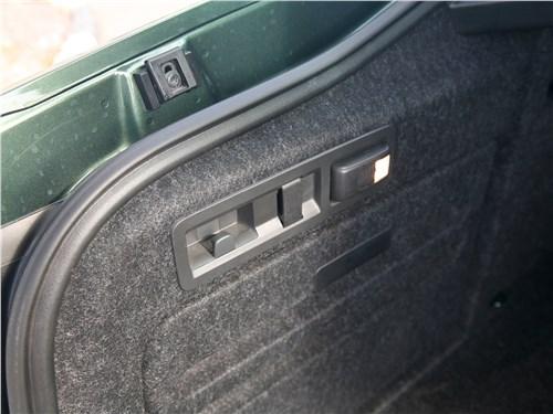 Skoda Superb Combi 2016 багажное отделение