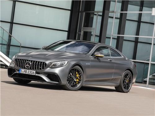 Mercedes S 560 Coupe 4matic 2018: четверть миллиона долларов у бордюра