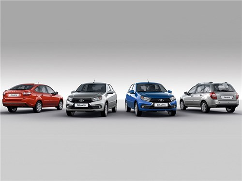 АвтоВАЗ рассекретил все версии обновленной Lada Granta