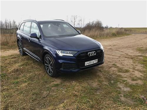 Audi Q7 - audi q7 (2020) цифра, пневма, статус