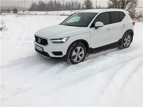 Предпросмотр volvo xc40 (2018) испытание зимой