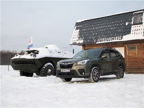 Subaru Forester - subaru forester 2019 обходя традиции