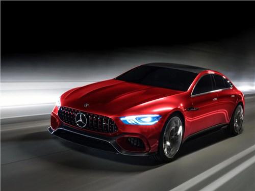 Новость про Mercedes-Benz - Mercedes-AMG GT Concept