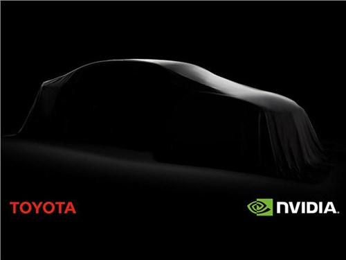 Новость про Toyota - Toyota будет разрабатывать «автопилот» совместно с Nvidia