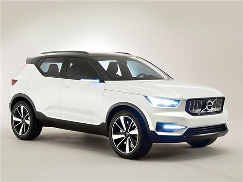 Новость про Volvo - Volvo начала дорожные тесты кроссовера XC40