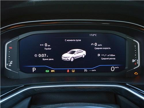 Volkswagen Polo (2020) приборная панель