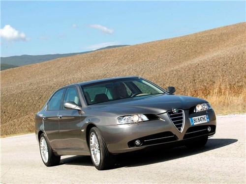 Итальянские скороходы (Alfa Romeo145-146, Alfa Romeo 147, Alfa Romeo 156, Alfa Romeo 166) 166