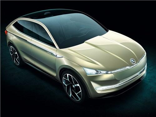 Skoda представила электрическое купе-кроссовер