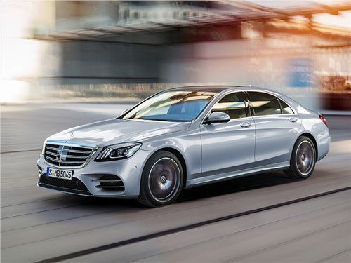 Новость про Mercedes-Benz S-Class - Mercedes-Benz S-класса