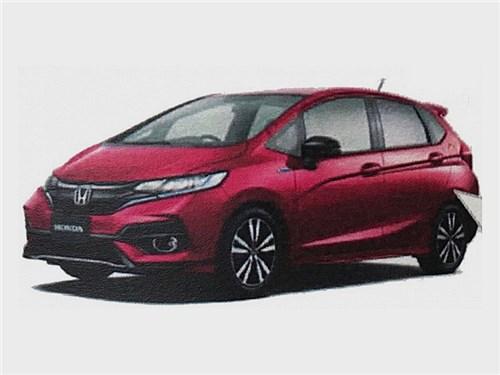 Honda готовит обновление Jazz